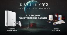 En jeu : 1 PS4 Pro 1To + 1 édition collector Destiny 2