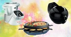 En jeu : 1 robot Moulinex, 14 friteuses Seb Actifry, 19 appareils à raclette Tefal et+