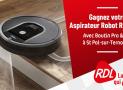 1 robot aspirateur Roomba 606 offert
