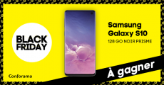 Tentez de gagner 1 smartphone Samsung Galaxy S10