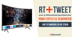 Tentez de gagner 1 TV Samsung 4K