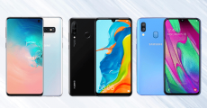 A gagner : 3 smartphones (Samsung Galaxy S10e, Samsung Galaxy A40 DS, Huawei P30 Lite)