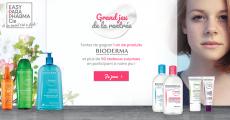 En jeu : 1 an de produits Bioderma + 50 cadeaux suprises