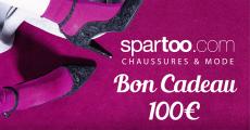 A gagner : 10 bons d'achat Spartoo de 100€