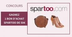10 bons d'achat Spartoo de 50€ à gagner 0 (0)
