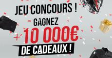 10 000€ de cadeaux (cartes cadeaux, sacs à dos, blousons, gilets…) à gagner