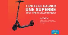 A gagner : 1 trottinette électrique Neoride 0 (0)