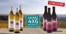 A gagner : 4 coffrets de 6 bouteilles de vin 4.8 (6)
