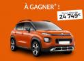 1 voiture Citroën Aircross de 24749€ offerte