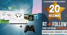 Tentez de remporter 1 console de jeux Xbox One S + jeux vidéo