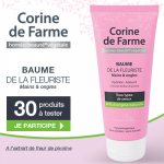 Testez le Baume de la Fleuriste Corine de Farme !