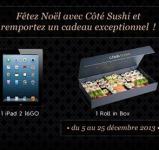 Gagnez 1 Rollin'Box et des smartbox avec Côté Sushi !