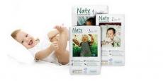 Recevez gratuitement des couches pour bébé Naty!