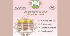 100 crèmes Rose Eclat Fermeté de So'Bio Etic à tester