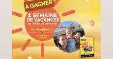 50 coffrets Wonderbox «3 jours en famille» de 169€ offerts