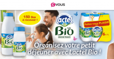 150 box Lactel Bio gratuites !