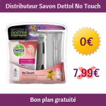 Distributeur automatique de Savon Dettol No Touch gratuit (réduction + Shopmium)