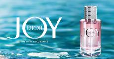 Offre de rapidité : échantillon gratuit du parfum Joy de Dior