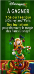 1 séjour féerique à Disneyland et des invitations aux parcs Disney !