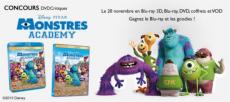 Gagnez 3 Blu-ray Monstres Academy, 2 lots d'un slap bande et d'un porte clef…!
