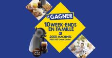 2000 cafetières Nescafé Dolce Gusto offertes !