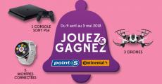 En jeu : 1 console PS4, 5 montres connectées et 3 drones !