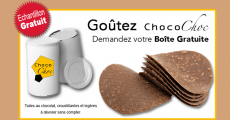 Échantillons gratuits du chocolat Choco Choc