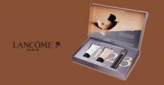 Coffret d'échantillons gratuits Lancôme : fond de teint + mascara + sérum 3.3 (183)