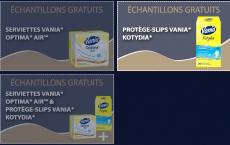 3 Échantillons Vania au choix à recevoir chez vous!