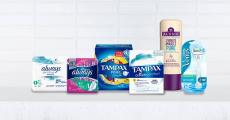 600 produits Always, Tampax, Aussie et Gillette offerts