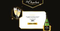6000 flûtes de champagne offertes aux premiers inscrits