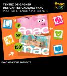 Gagnez des cartes cadeaux Fnac Kids avec Disney !