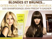 100 shampooings John Frieda à gagner! 0 (0)