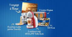 Gagnez un séjour à Rome et une machine Nescafé Dolce Gusto ! 0 (0)