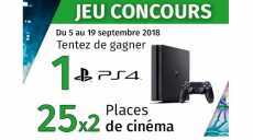 A gagner : une console Sony Playstation 4