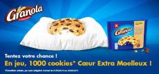 1000 Echantillons GRATUITS de cookies Granola