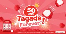 A remporter : 125 sachets de Tagada Haribo, 1 scooter et+