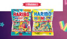 1 Voyage pour 3 personnes à Ibiza et des paquets de bonbons Haribo à gagner