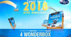 """En jeu : 4 coffrets Wonderbox """"Saut en parachute et activités extrêmes"""" 0 (0)"""