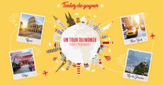 1 tour du Monde de 20'000€ offert