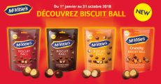 25 000 paquets de biscuits Mc'Vities gratuits !
