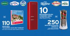Offerts : 10 réfrigérateurs SMEG + 110 coffrets Smartbox