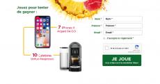 7 iPhone X et 10 cafetières Nespresso à gagner !