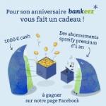 1000 euros et 1 an de musique avec Bankeez !