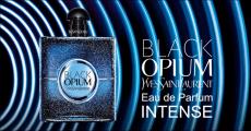 Échantillon gratuit du parfum Intense Black Opium d'Yves Saint Laurent
