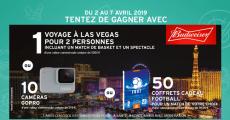 Tentez de gagner 1 voyage à Las Vegas de 5000€, 10 caméras GoPro et+ 0 (0)