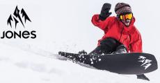 Tentez de gagner un pack snowboard Jones de 879€