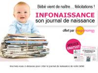 Journal de naissance Infonaissance offert!
