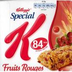 Testez la barre Special K Fruits Rouges!