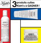 3 produits cultes Khiel's à gagner! 0 (0)
